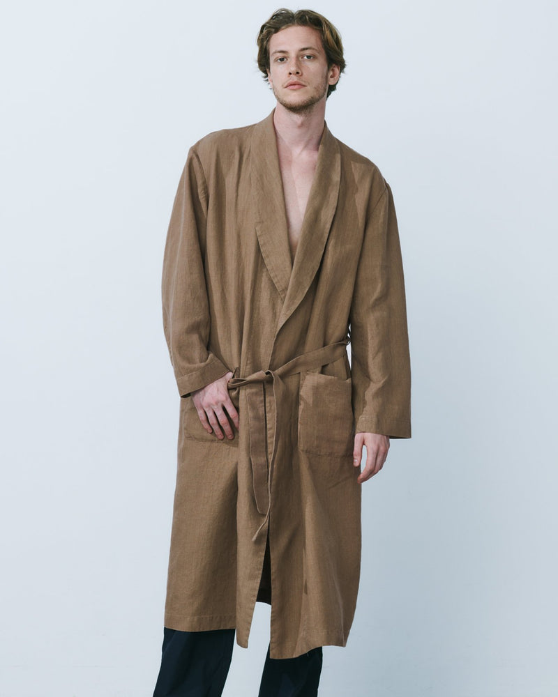 Raw_smooth_linen_robe_brown_2
