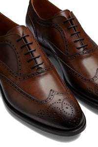 Tan Brogue Oxford
