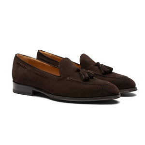 Mark Dark Brown Tassel Loafer - Romèro Ferrera