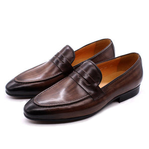 Rico Brown Penny Loafer - Romèro Ferrera