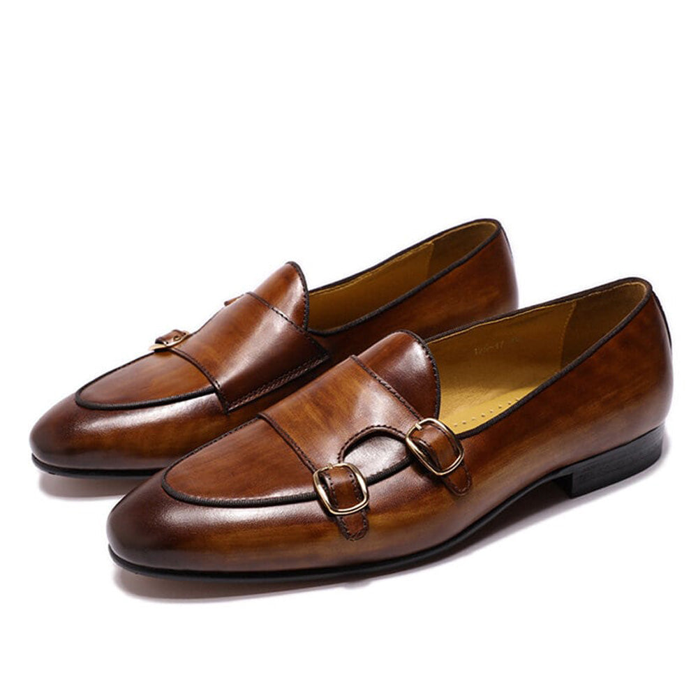 Thomas Tan Monk Strap Loafer - Romèro Ferrera