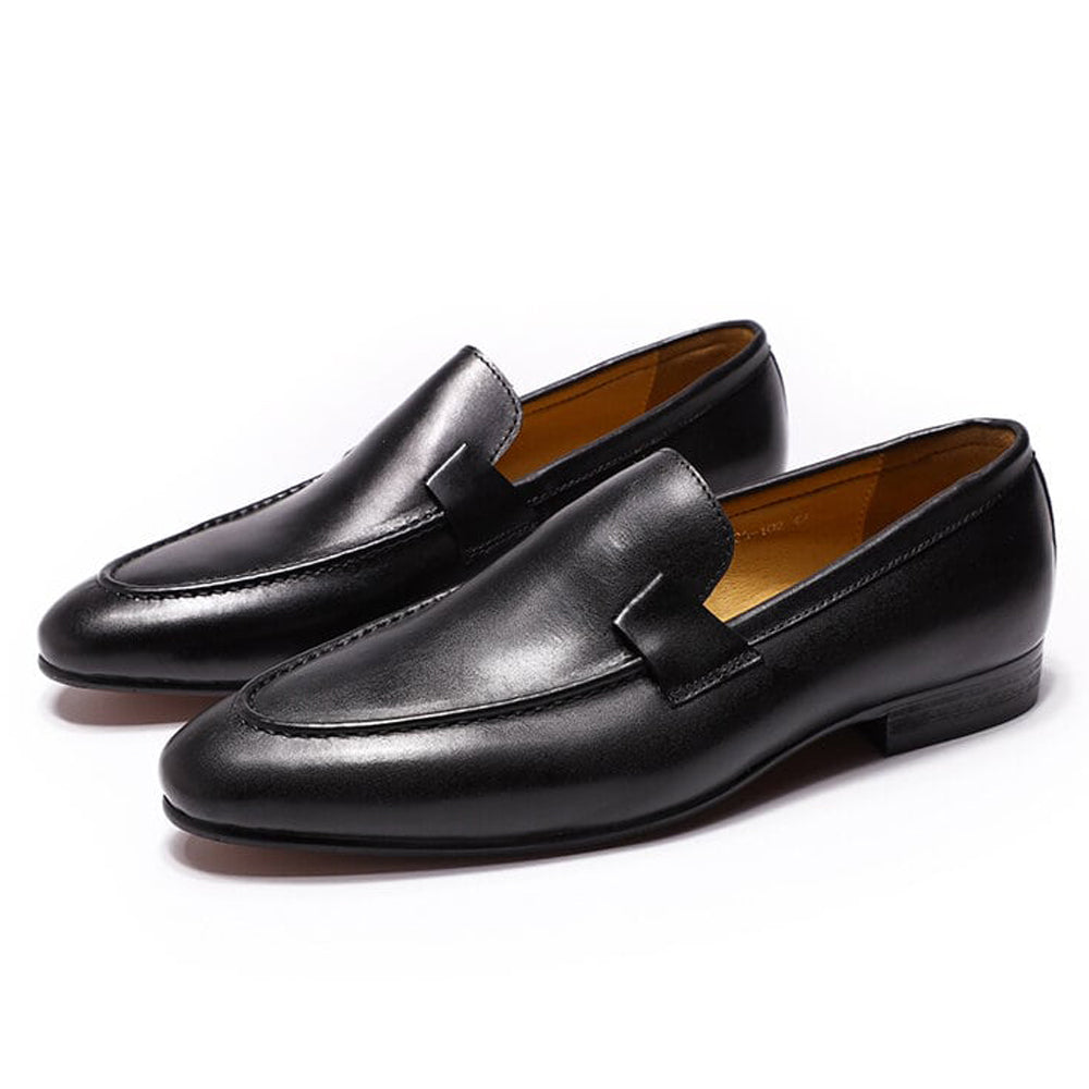Johnson Black Loafer - Romèro Ferrera