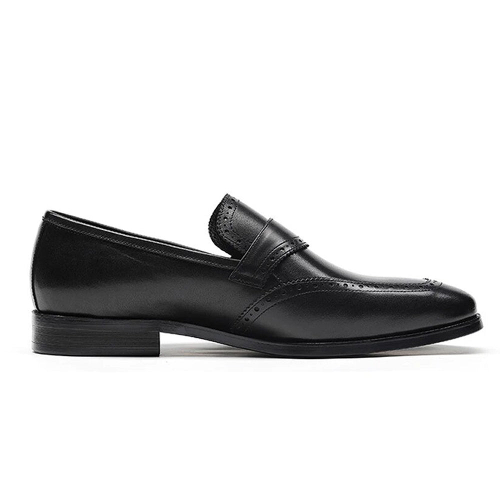 Daniel Black Single Monk Strap - Romèro Ferrera