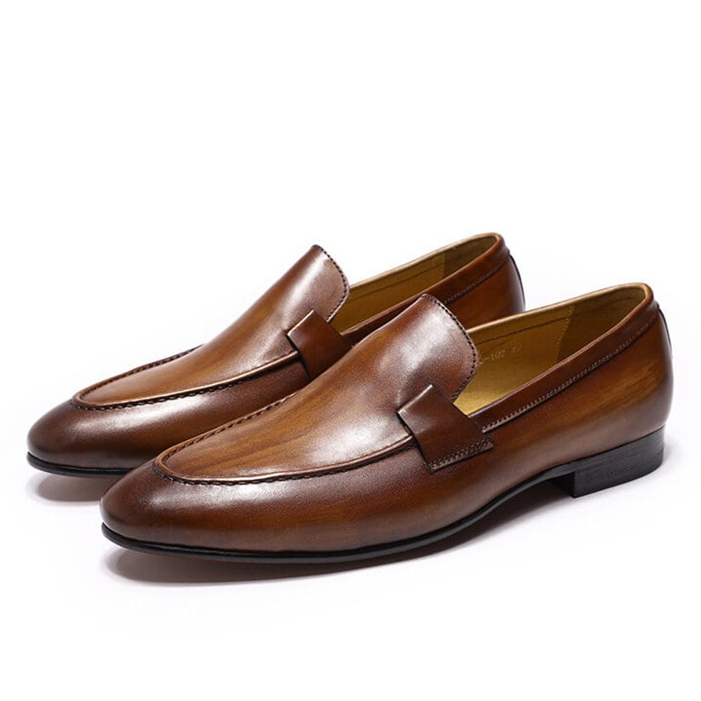 Johnson Tan Loafer - Romèro Ferrera