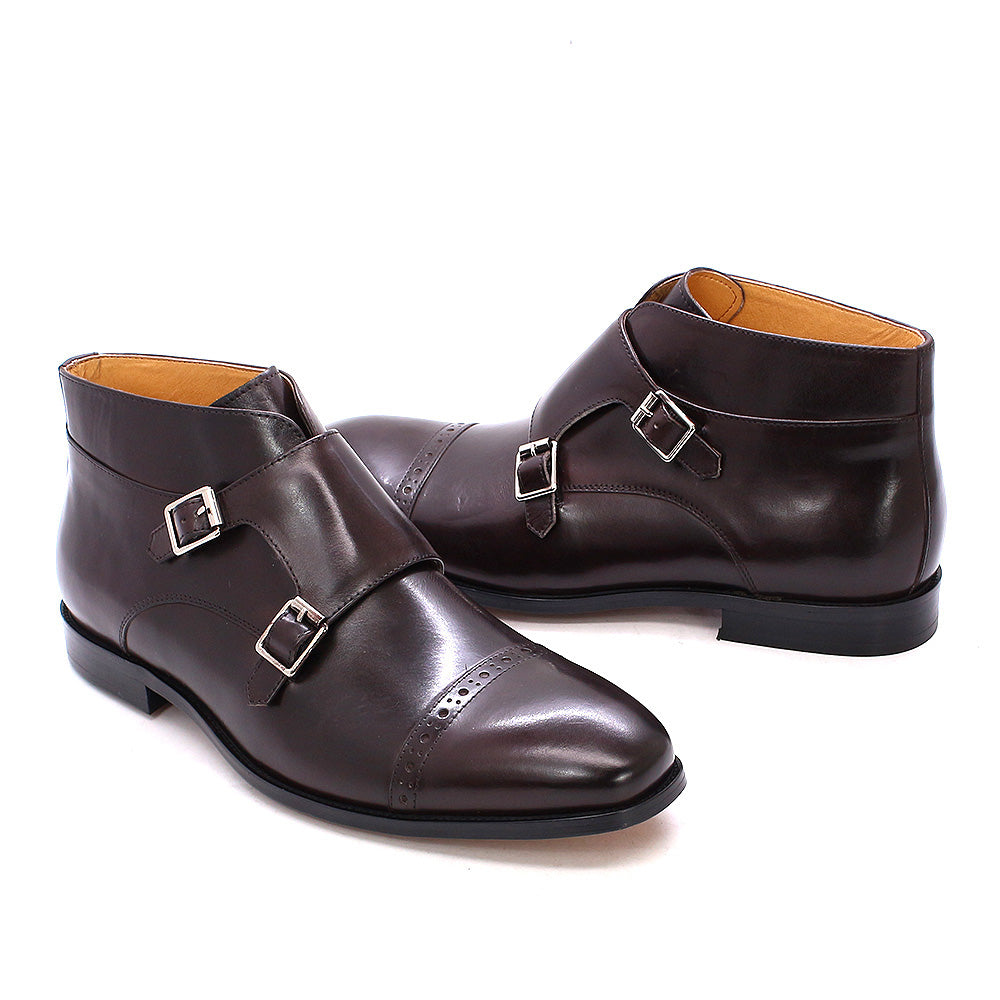 Dan Brown Double Monk Strap Boot