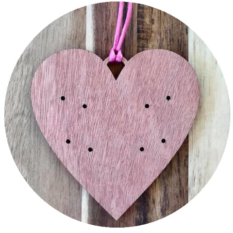Accessory Storage- Heart Earring Holder