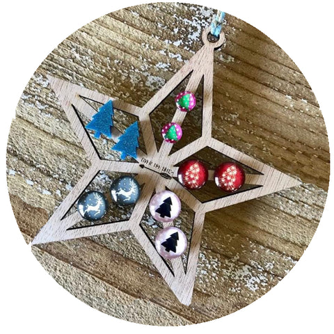 Accessory Storage- Star Earring Holder