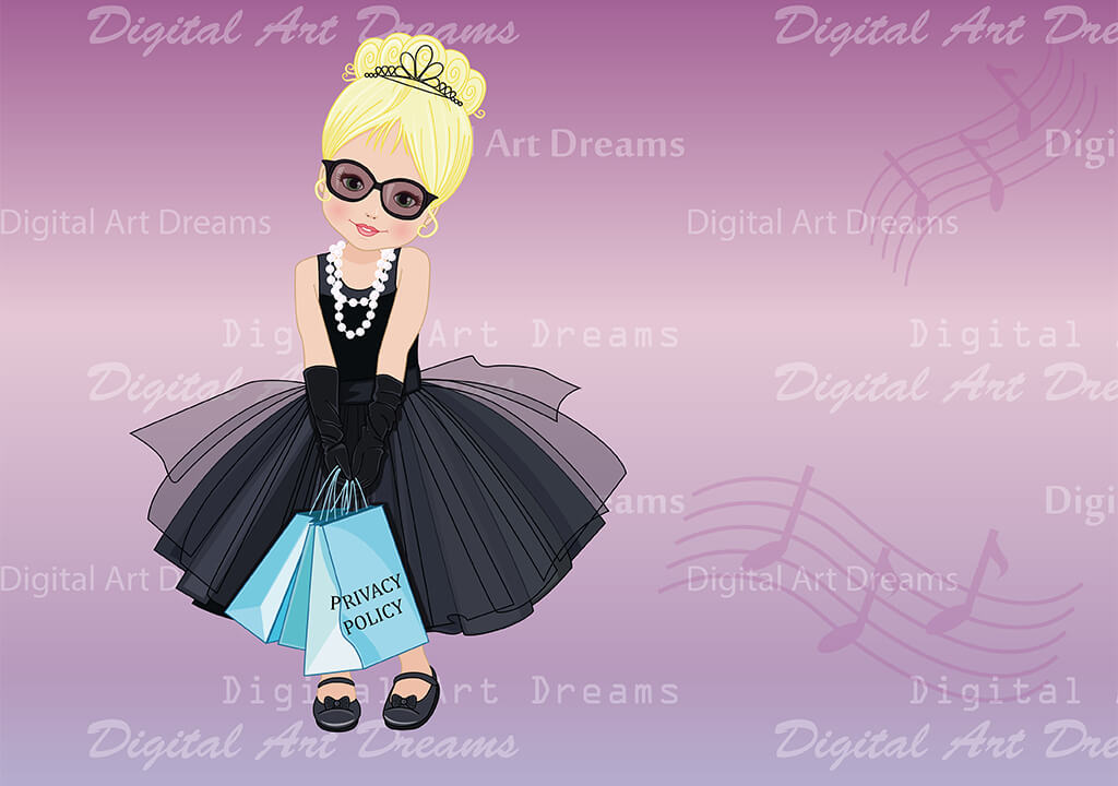 Privacy Policy for Digital Art Dreams clipart