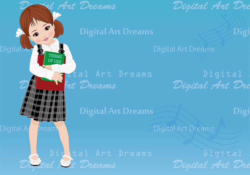 Term of Use for Digital Art Dreams clipart