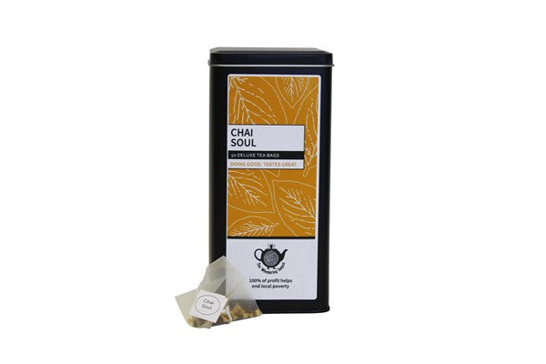 Chai Soul Deluxe Tin 50 Teabags