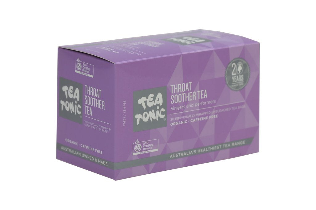 Throat Soother tea bags box 20