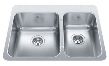 Franke Steel Queen 1 and 1/2 Bowl Sink