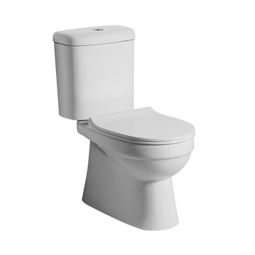 Argent Pace Close Coupled S Trap Bottom Entry Toilet Suite