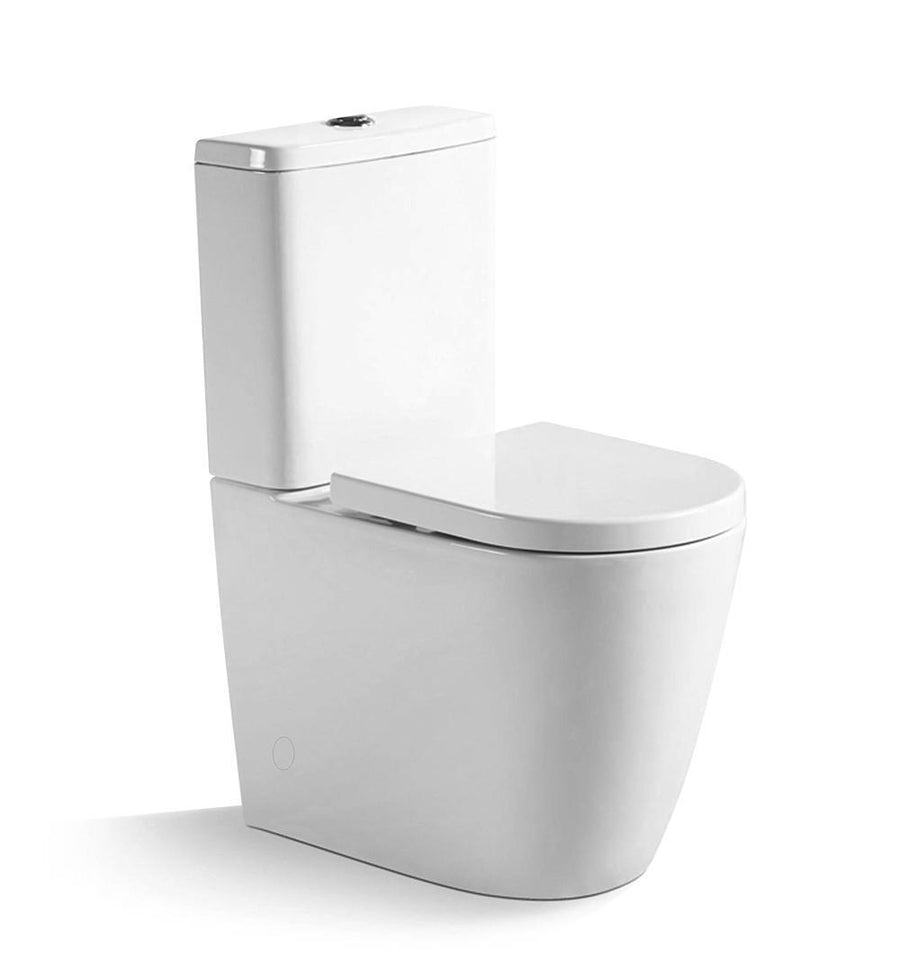 Argent Vista HygienicFlush Back To Wall Toilet Suite