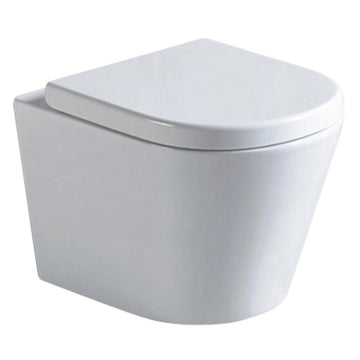 Argent Vista Wall Hung Toilet