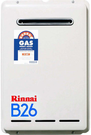 Rinnai B26N50 Natural Gas Continuous Flow Hot Water System
