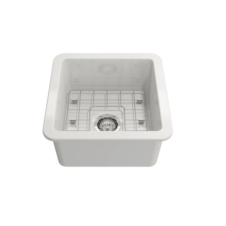 Turner Hastings Cuisine 46 x 46 Inset / Undermount Fine Fireclay Sink
