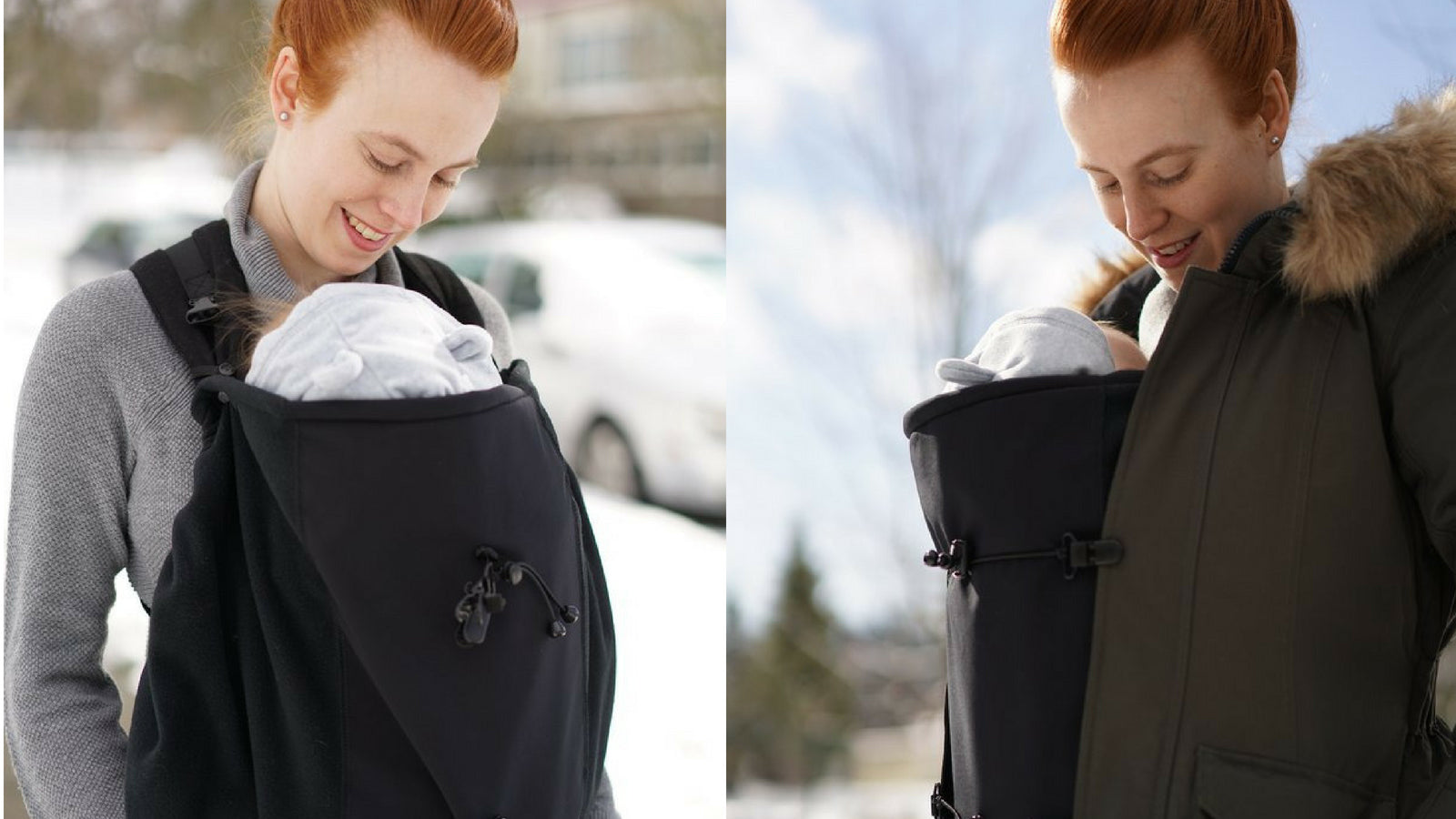 Jacket Extenders For Maternity And Baby Carrying