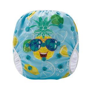 Pineapple swim diaper