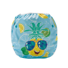Load image into Gallery viewer, Pineapple swim diaper