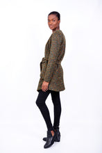 Load image into Gallery viewer, Jane Knitted Coat Olive