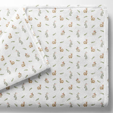 Load image into Gallery viewer, Baby fleece blanket, Somebunny loves you