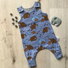 Load image into Gallery viewer, Bison baby romper