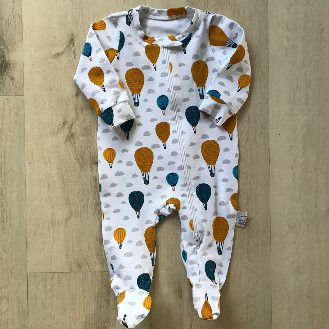 Air balloon babygrow