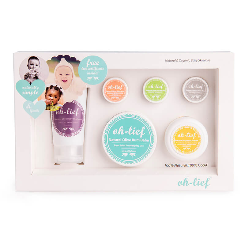 Oh-lief Natural Baby Gift Box