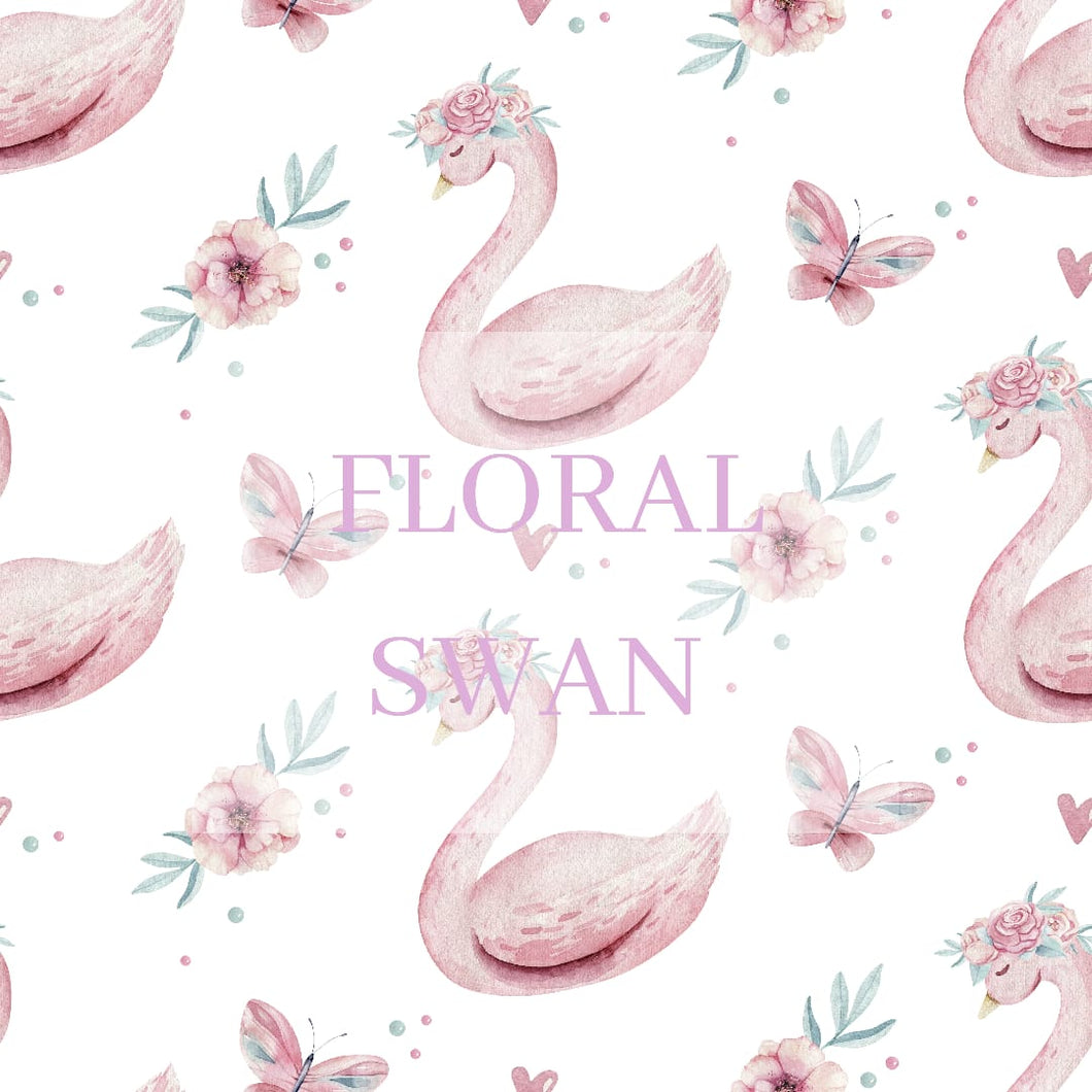 Floral Swan Multi Cover