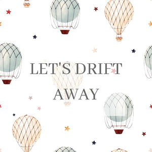 Let's drift away Newborn Swaddle set
