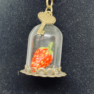 """Sacred Strawberry"" Necklace"