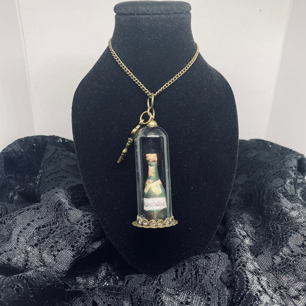 """Sacred Champagne"" Necklace"