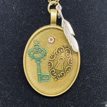 "Load image into Gallery viewer, ""Lock & Key"" Necklace"