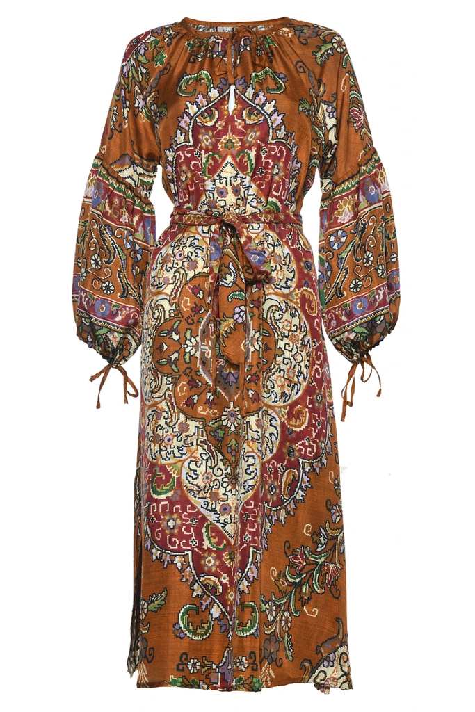 DASCOLI <br/> Taraz Dress - Rust