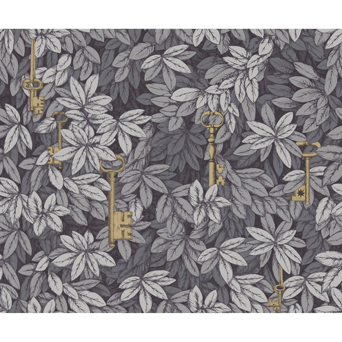 FORNASETTI <br/> Chiavi Segrete Wallpaper - Sblue/Grey <br/> PRE-ORDER