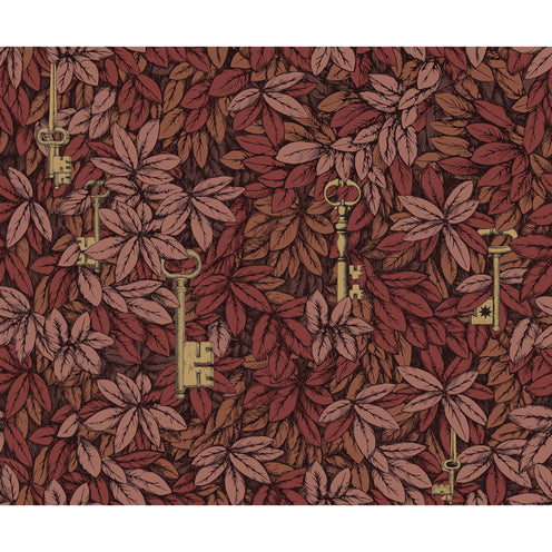 FORNASETTI <br/> Chiavi Segrete Wallpaper - Autumnal Leaves <br/> PRE-ORDER