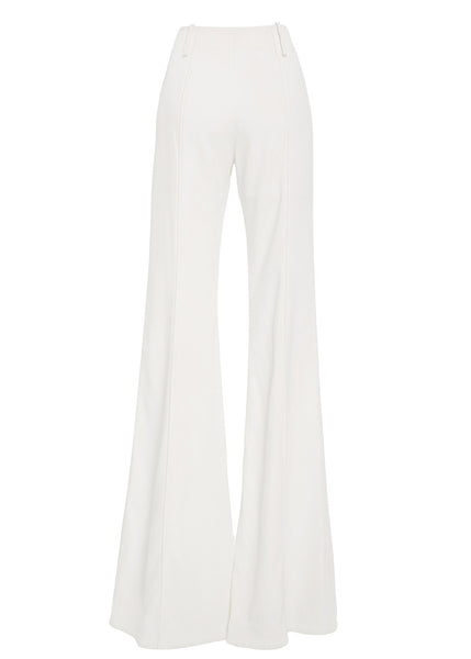 Ms MIN Soft Bell Bottom Pant (Cream)