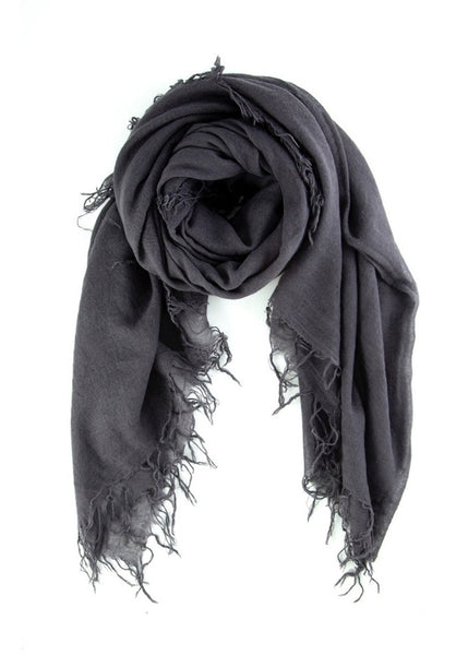 CHAN LUU Cashmere and Silk Scarf (Eiffel Tower)