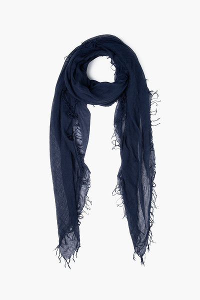 CHAN LUU Cashmere and Silk Scarf (Outer Space)