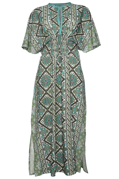 DASCOLI Amalia Dress (Green)