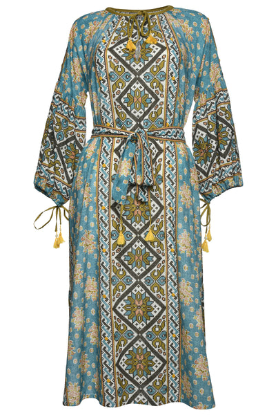 DASCOLI Margarita Dress (Blue)
