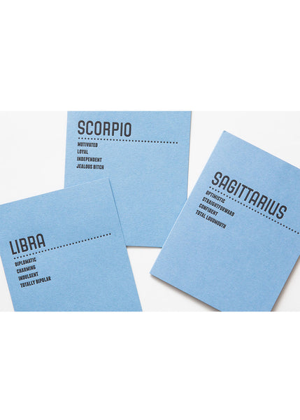 Sapling Press - Horoscope Cards
