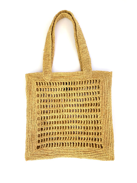 MAISON N.H PARIS - Anna Raffia Tote Bag (Natural)