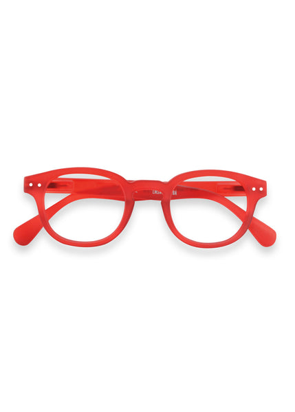 IZIPIZI Red Crystal Reading Glasses (#C)