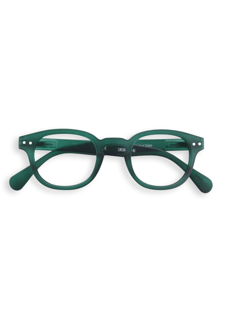 IZIPIZI Green Crystal Reading Glasses (#C)