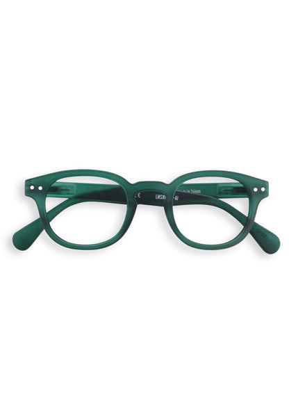 IZIPIZI - Reading Glasses (Green Crystal) (#C)