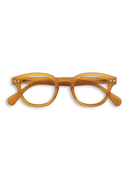 IZIPIZI Yellow Ochre Reading Glasses (#C)