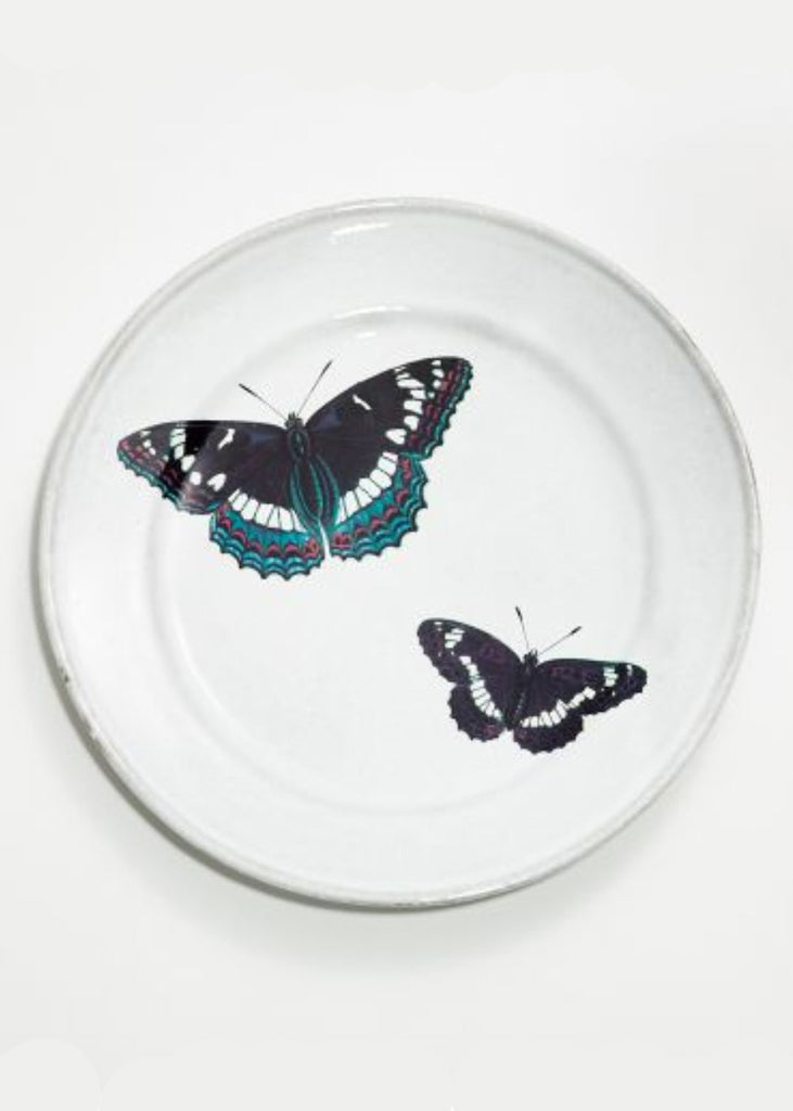 ASTIER DE VILLATTE John Two Flying Butterflies Plate