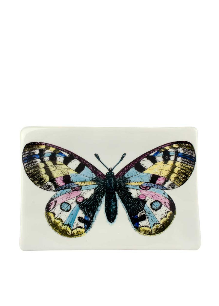 FORNASETTI Rectangular Ashtray Farfalla